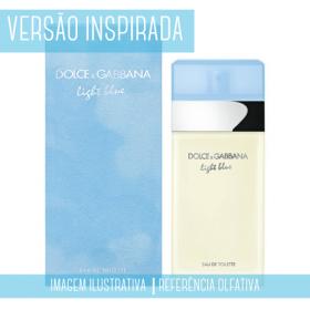 Essência Dolce & Gabbana Light Blue Contratipo