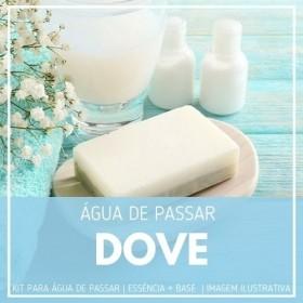 Essência Dove + Água de Passar - Ganhe Válvula Borrifadora