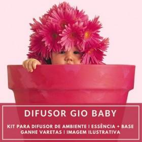 Essência Giovana Baby + Base Perfume - Ganhe Varetas