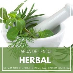 Essência Herbal + Água Lençol - Ganhe Válvula Borrifadora