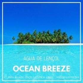 Essência Ocean Breeze + Água Lençol - Ganhe Válvula Borrifadora