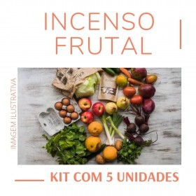 Incenso Indiano Frutal ( Kit 5 unidades )