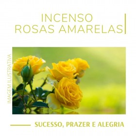 Incenso Rosas Amarelas