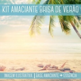 KIT AMACIANTE - Base Amaciante + Essência Brisa de Verão DWN