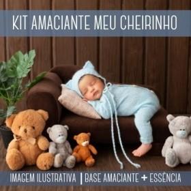 KIT AMACIANTE - Base Amaciante + Essência Meu Cheirinho