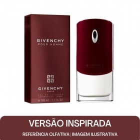 KIT PERFUME - Essência Givenchy M Contratipo + Base Para Perfume