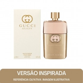 KIT PERFUME - Essência Gucci Guilty Contratipo F + Base Para Perfume