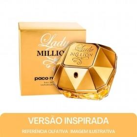 KIT PERFUME - Essência Lady Million Contratipo + Base Para Perfume
