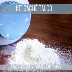 KIT SACHÊ - Sagu + Essência Talco