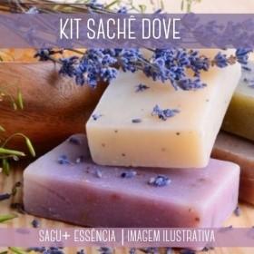 KIT SACHÊ - Sagu + Essência Versão Inspirada Dove
