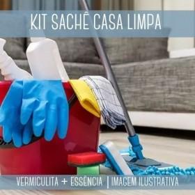 KIT SACHÊ - Vermiculita + Essência Casa Limpa