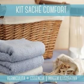 KIT SACHÊ - Vermiculita + Essência Comfort Blue