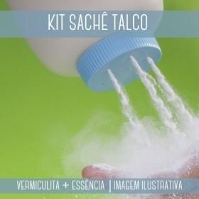 KIT SACHÊ - Vermiculita + Essência Talco