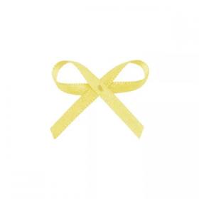 Laço Mosquitinho Amarelo 100 unid
