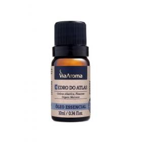 Óleo Essencial Cedro Atlas 10 ml Via Aroma