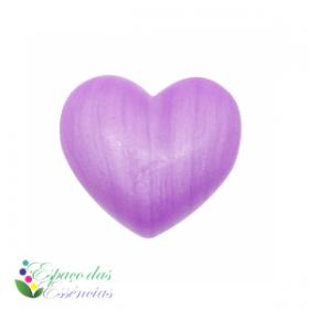 Sabonete Coração Lilás