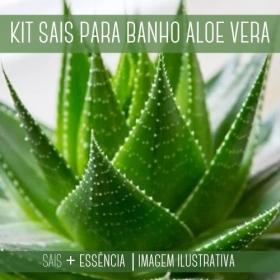 Sais para Banho Aloe Vera