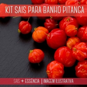 Sais para Banho Pitanga