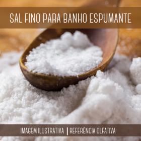 Sal Fino para Banho Espumante 1kg