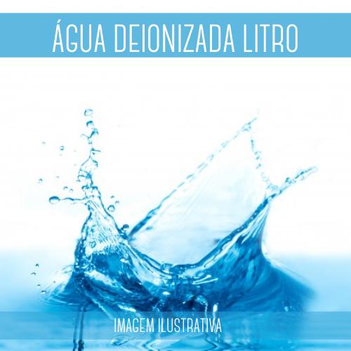 Água Deionizada 1LT