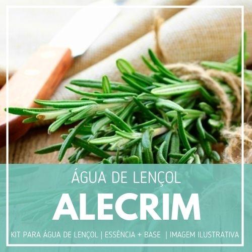 Essência Alecrim + Água Lençol - Ganhe Válvula Borrifadora