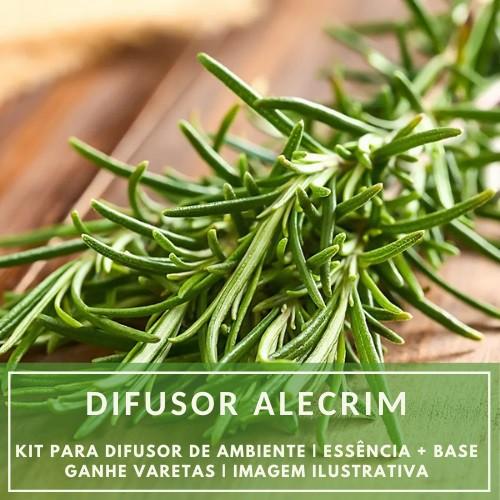 Essência Alecrim + Base Perfume - Ganhe Varetas