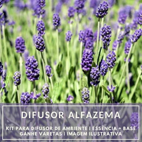 Essência Alfazema + Base Perfume - Ganhe Varetas