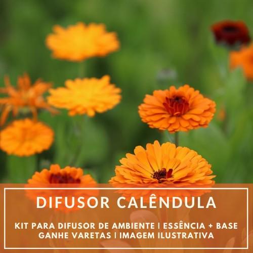 Essência Calêndula + Base Perfume - Ganhe Varetas
