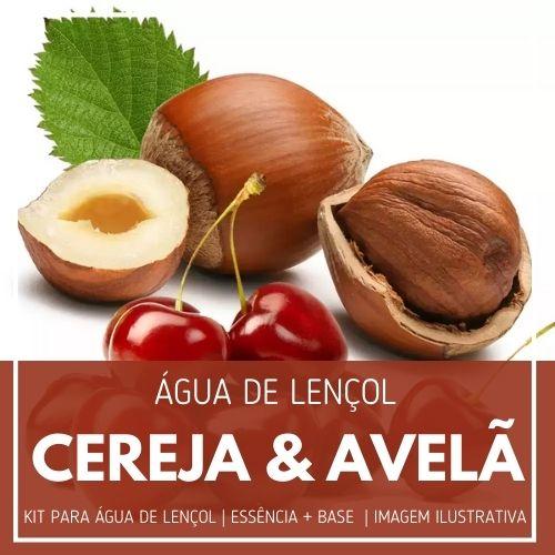 Essência Cereja e Avelã + Água Lençol - Ganhe Válvula Borrifadora
