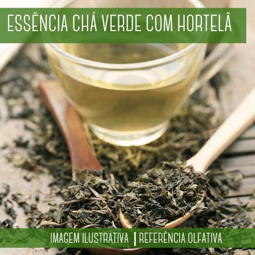 Essência Chá Verde com Hortelã