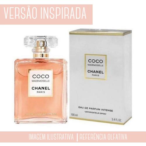 Essência Coco Chanel Mademoiselle Contratipo