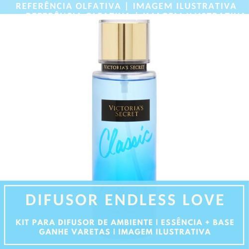 Essência Endless Love + Base Perfume - Ganhe Varetas