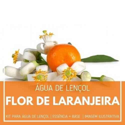 Essência Flor De Laranjeira + Água Lençol - Ganhe Válvula Borrifadora