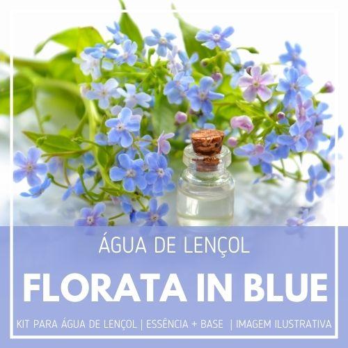 Essência Florata in Blue + Água Lençol - Ganhe Válvula Borrifadora