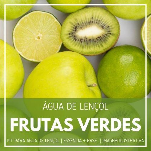 Essência Frutas Verdes + Água Lençol - Ganhe Válvula Borrifadora