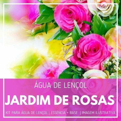 Essência Jardim de Rosas + Água Lençol - Ganhe Válvula Borrifadora