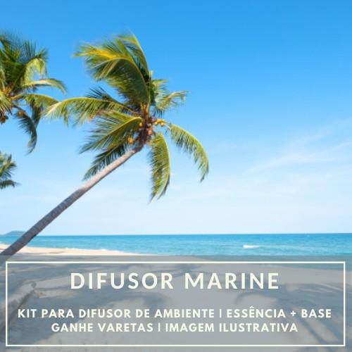 Essência Marine + Base Perfume - Ganhe Varetas