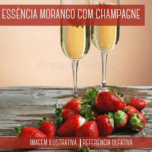 Essência Morango com Champagne
