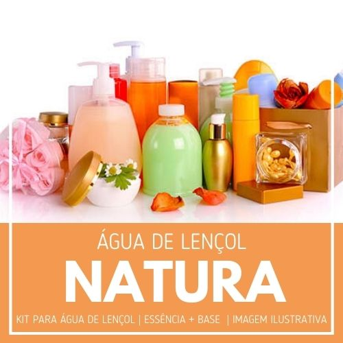 Essência Natura + Água Lençol - Ganhe Válvula Borrifadora