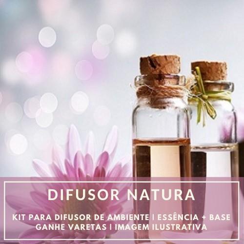 Essência Natura + Base Perfume - Ganhe Varetas