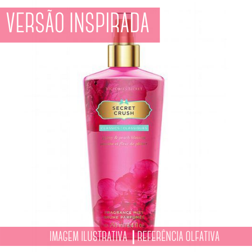 Essência Secret Crush contratipo 100ml