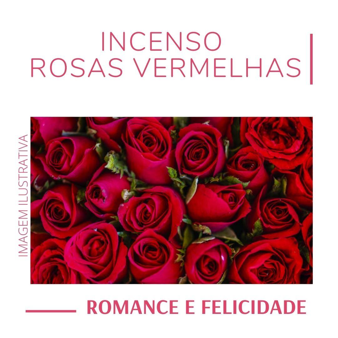 Incenso Rosas Vermelhas