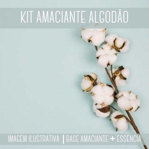 KIT AMACIANTE - Base Amaciante + Essência Algodão
