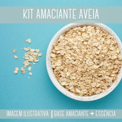 KIT AMACIANTE - Base Amaciante + Essência Aveia