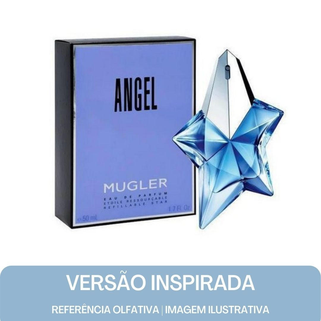 KIT PERFUME -Essência Angel Contratipo + Base Para Perfume