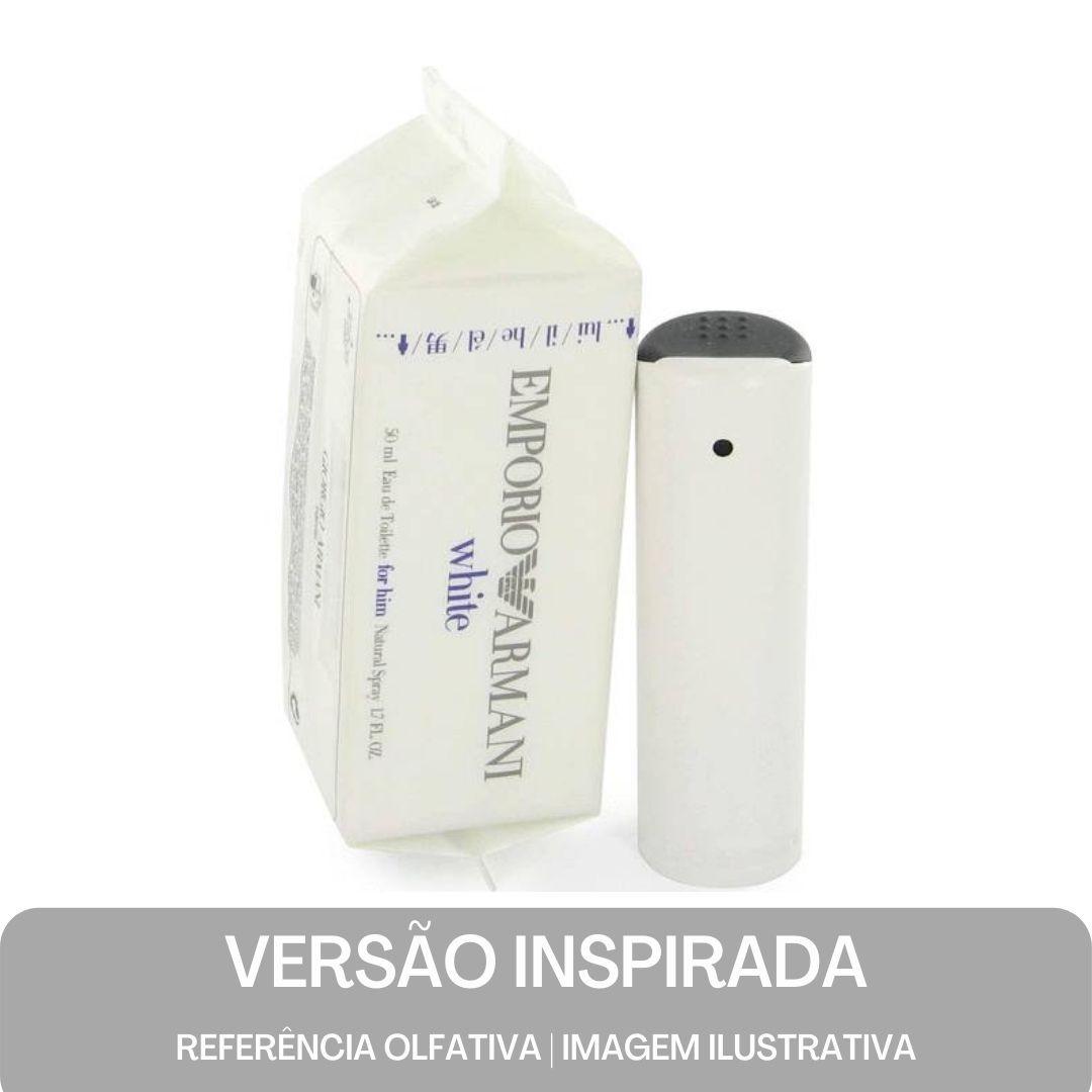KIT PERFUME - Essência Armani White Men Contratipo 50ml + Base Para Perfume