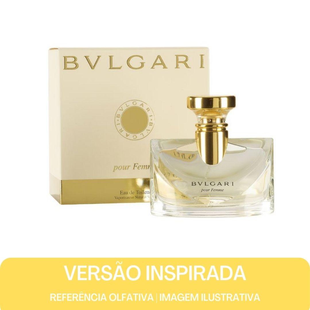KIT PERFUME - Essência Bulgari  F Contratipo + Base Para Perfume