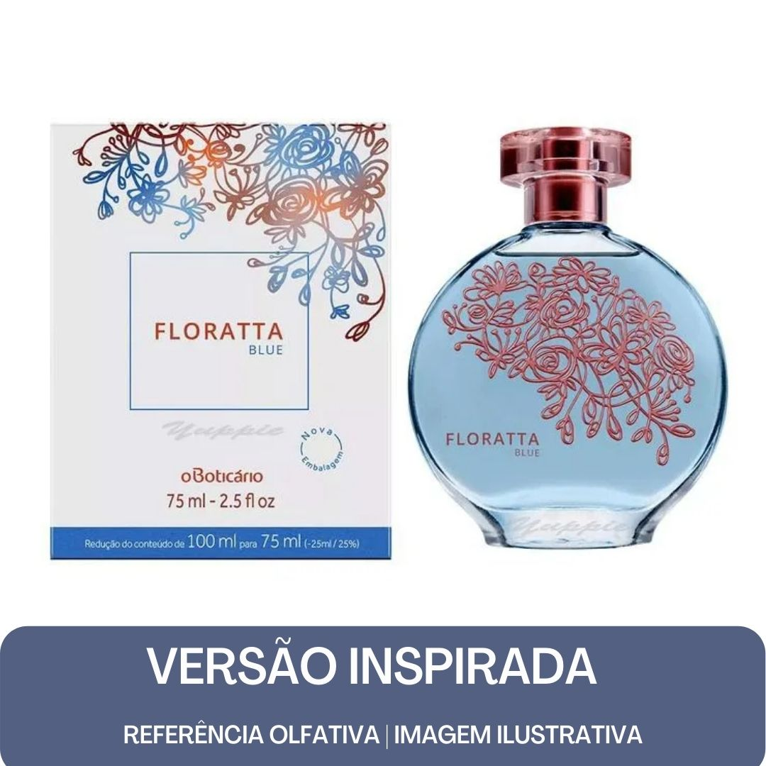 KIT PERFUME - Essência Florata in Blue Contratipo + Base Para Perfume