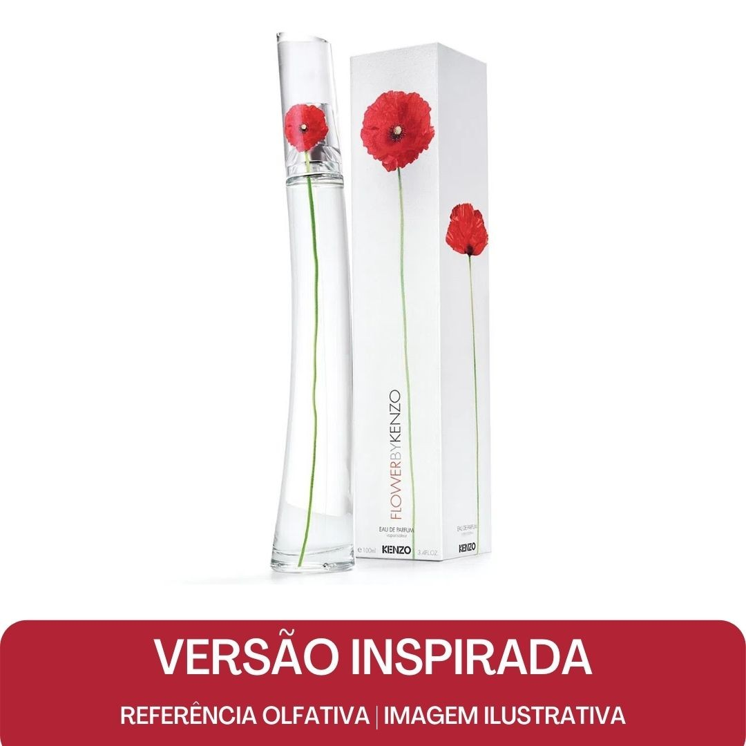 KIT PERFUME - Essência Flower by Kenzo Contratipo + Base Para Perfume