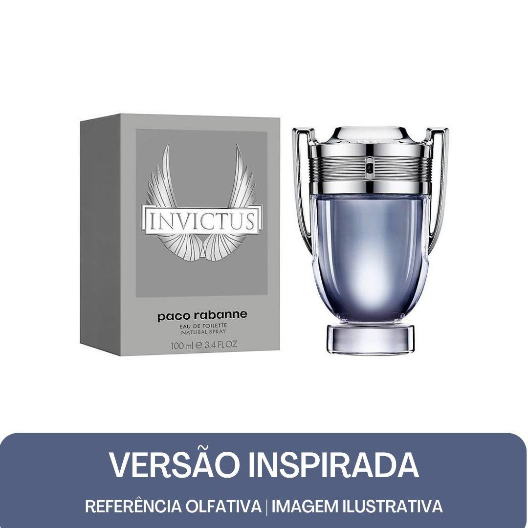 KIT PERFUME - Essência Invictus Contratipo M + Base Para Perfume